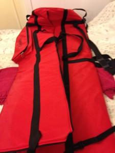 """väska för upp till 12"""" x 150cm"""
