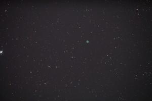 Ringnebulosan M57 Foto med SkyWatcher  250 Canon 60d ISO 800 Exp 35 sek