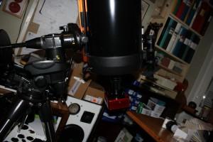 "Atik 383 i primärfokus på Celestron 9,25"" XLT"