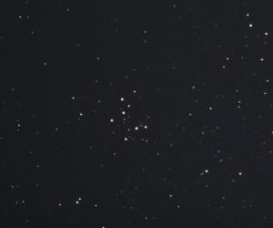 M 29 samma som foto ovan men beskuren för att få fram stjärnhopen mer centralt / Länna 25/10 2015 Björn